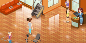 Hra - Jenny's Fitness Center