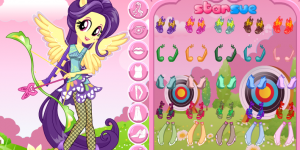 My Little Pony Fluttershy Archery Style