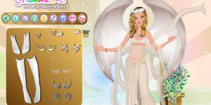 Beautiful Angel Dress Up