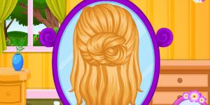 Hra - Baby Barbie Flower Braids