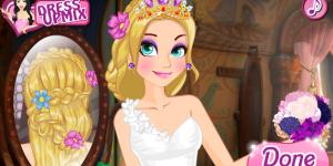Hra - Rapunzel Wedding Braids School
