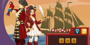 Hra - Jack & Jennifer: Pirate Partners