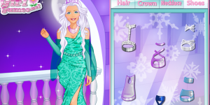 Fashion Studio Ice Queen Outfit