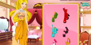 Barbie Floral Dress Design