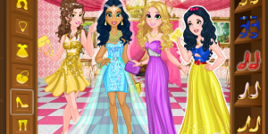 Hra - Disney Princess Graduation Ball