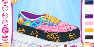 Hra - Barbie Design My Emoji Shoes