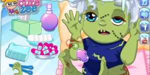 Hra - Elsa's Zombie Baby