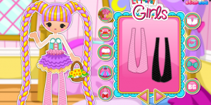 Scoops Waffle Cone Dress Up Game