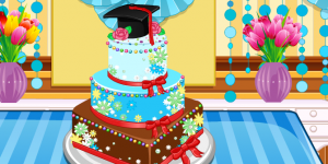 Anna Graduatioon Cake Contest