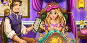 Hra - Rapunzel Flu Doctor