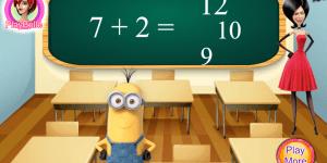 Hra - Minion School Test