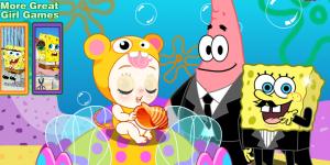 Hra - Sponge Bob & Patrick Babies