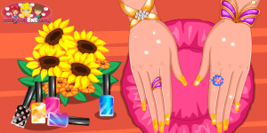 Hra - Beauty Nail Art Salon