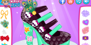 Hra - Monster High Design School Shoes