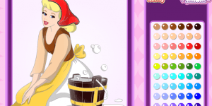 Hra - Cinderella Coloring