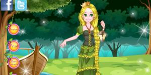 The Long Hair Rapunzel Dress Up