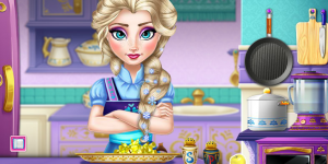 Hra - Elsa Real Cooking