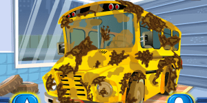 Hra - School Bus Car Wash