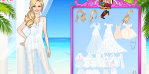 Island Wedding Dress Up