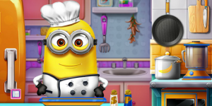 Hra - Minions Real Cooking