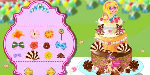 Hra - Super Barbie Birthday Cake