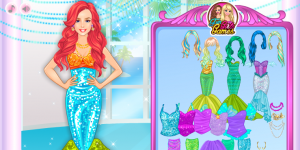 Princess Ariel Dress Up
