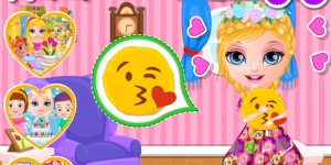 Hra - Baby Barbie DIY Emoji Pillow