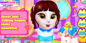 Hra - Talking Angela At Spa Session