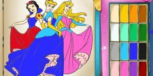 Hra - Princess Coloring Book
