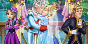 Hra - Elsa Wedding Kiss