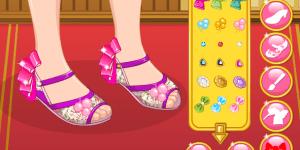 Hra - Princess Mulan Shoes Designer