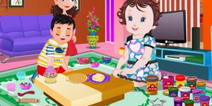 Baby Lisi Play Dough Cake
