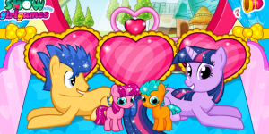 Hra - Twilight Sparkle Gave Birth Twins
