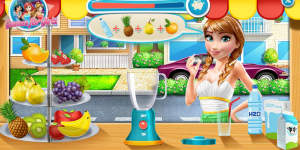 Hra - Ariel's Juice Box
