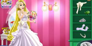 Rapunzel's Wedding Party