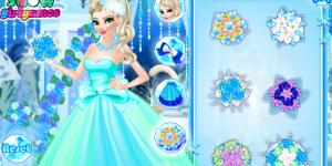 Elsa Change To Cat Queen Wedding
