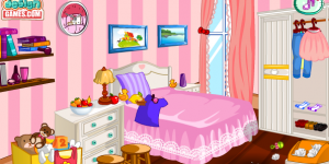 Hello Kitty Room Cleanup