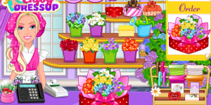Hra - Barbie's Flower Shop