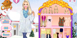 Hra - Barbie' s Winter Glitter Trends