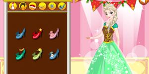 Hra - Elsa's Christmas Visit