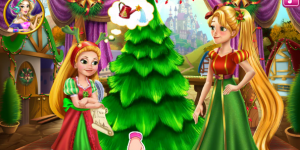 Rapunzel Mommy Christmas Tree
