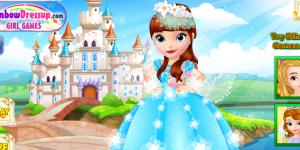 Design Princess Sofia's Wedding Dress
