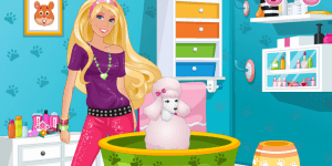 Hra - Barbie's Pet Beauty Salon
