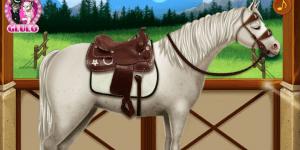 Hra - Elsa's Horse Caring