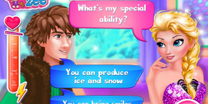 Hra - Elsa's True Love Jack vs Hiccup