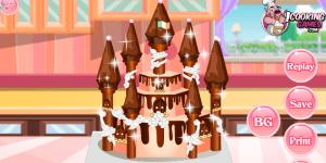 Hra - Princess Castle Cake 4