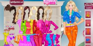 Shopping Barbie Dress Up