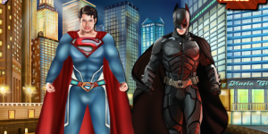 Hra - Superman Vs Batman Dressup