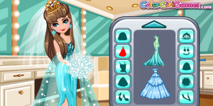 Hra - Frozen Dream Wedding 2