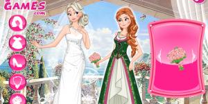 Frozen Sisters Double Wedding
